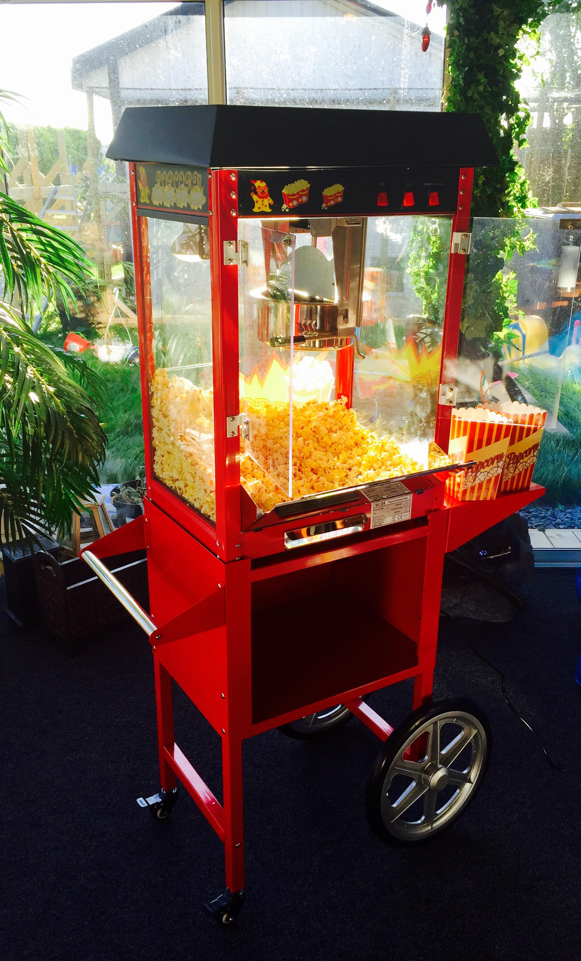 hyra popcornmaskin malmö